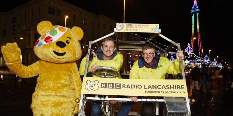 pedal for pudsey